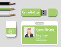 Camomile Green logo