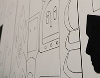 Wallpainting - Binga office redesign