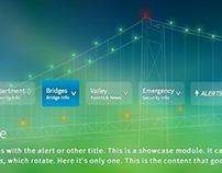 NYS Bridge Authority Background/Header Website Design