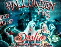 Dosha Bar Halloween Poster & Flyer