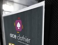 Ace Clothier Flier Design