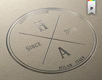 HansenART alternative corporate image and logo design