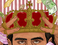 Cover Illustration for Pickles Magazine, Issue 6