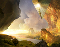 """""""The One"""" - Matte-Painting Music Video"""