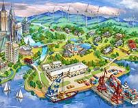 Bosch map illustration
