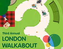 Third Annual London Walkabout Poster