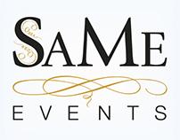 Logo 'SaMe Events'