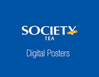 Society Tea - Digital Posters