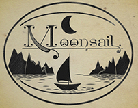 Business card design for Moonsail.
