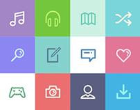 Dripicons (Free Iconset) - PSD, Illustrator, Webfont