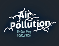 Air Pollution flash website