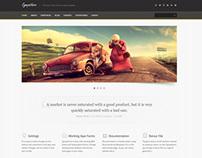 Sympathico site template
