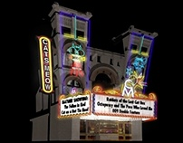 3D Detailed Cartoon Buildings