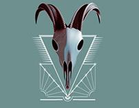 GoatSkull JumpParty Poster