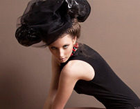 Tie Bow Girl for Ellement Magazine August 2013