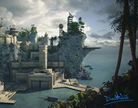 Base Militar Isla Roca