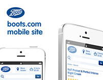 boots.com / mobile site