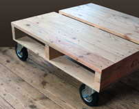 Just pallet table