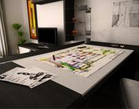 Architects flat - interior design