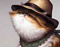 """Cat family"" story"