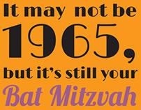 Wendie's Bat Mitzvah