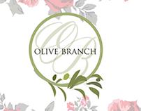 Olive Branch Floral and Interior Design Branding