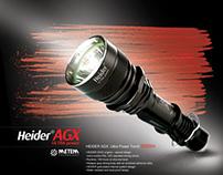 Package design for flashlights, METEM TEKNOLOJI co