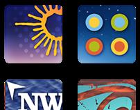 App & Social City Campaign Icons
