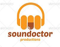 Sound Doctor Logo Template