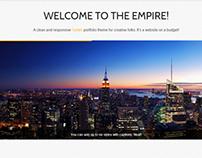 Empire - Responsive Tumblr Portfolio Theme