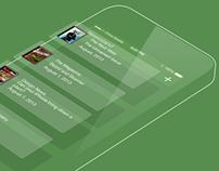 iOS 7 Newsstand Redesign