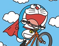 Doraemon cycling life