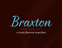 Braxton - free font