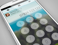 Concept Android Dialler
