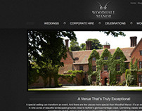 Woodhall Manor web development