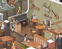 DeLorean Cafe