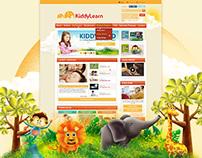 KiddyLearn Website