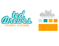 Ted Drewes rebrand