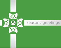 Xbox Holiday Card