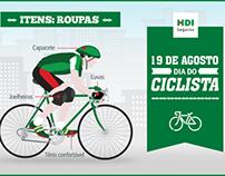 Imagens de Share // Dia do Ciclista // HDI