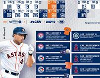 Houston Astros Magazine ADS