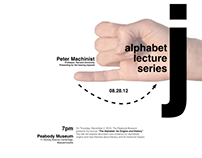 Alphabet Lecture Series Poster