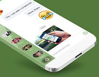 Facebook Messenger App Interface Desgin