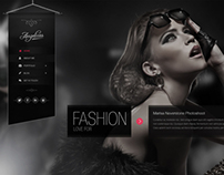 Angelicas Photography PSD Theme