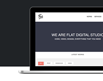 Flat Studio - Responsive One Page Template