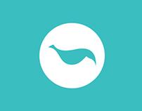 TwitPickings   Logo concept + Flat UI