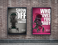 Mylo Outdoor Advertising - London, Earls Court