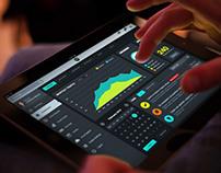 Super Tablet Dashboard UI