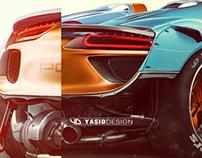 Porsche 918 gone wild