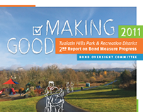 Park District Annual Report | 2011
